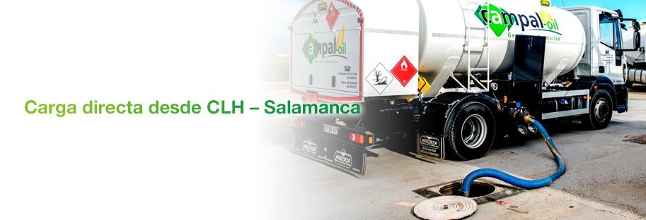 Carga directa desde CLH salamanca